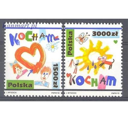 Znaczek Polska 1992 Mi 3386-3387 Fi 3238-3239 Czyste **