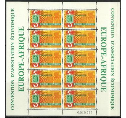 Znaczek Republika Środkowoafrykańska 1964 Mi ark 70 Czyste **