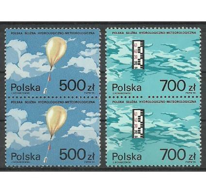 Znaczek Polska 1990 Mi 3275-3276 Fi 3127-3128 Czyste **