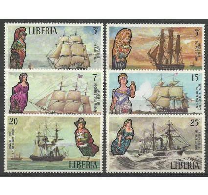 Znaczek Liberia 1972 Mi 845-850 Czyste **