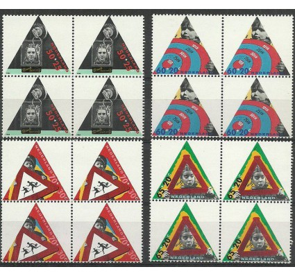 Znaczek Holandia 1985 Mi 1281-1284 Czyste **
