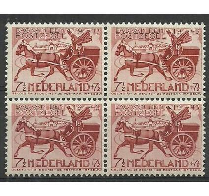 Znaczek Holandia 1943 Mi 422 Czyste **
