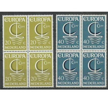 Znaczek Holandia 1966 Mi 864-865 Czyste **