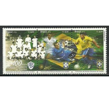 Znaczek Brazylia 2014 Mi 4166-4168 Czyste **