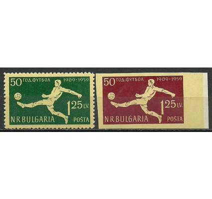 Znaczek Bułgaria 1959 Mi 1135-1136 Czyste **