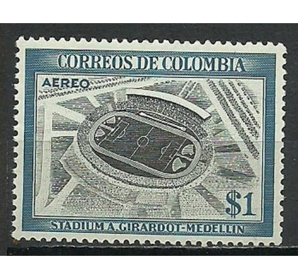 Znaczek Kolumbia 1954 Mi 680 Czyste **