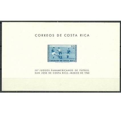 Znaczek Kostaryka 1960 Mi bl 2 Czyste **