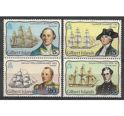 Znaczek Gilbert Islands 1977 Mi 291-294 Czyste **