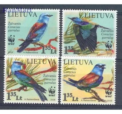 Znaczek Litwa 2008 Mi 984-987 Czyste **