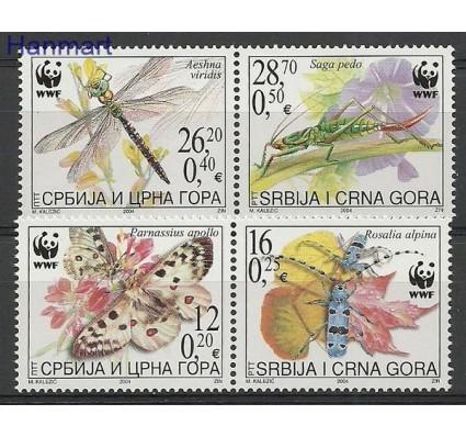 Znaczek Serbia i Czarnogóra 2004 Mi 3173-3176 Czyste **