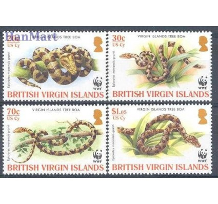 Znaczek Wyspy Dziewicze 2005 Mi 1137-1140 Czyste **