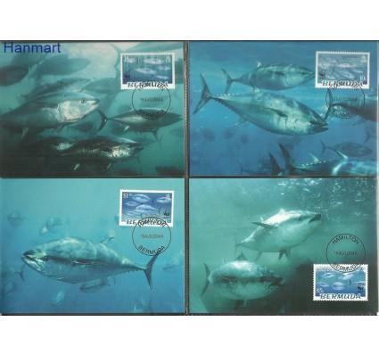 Znaczek Bermudy 2004 Mi 877-880 Karta Max