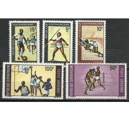 Znaczek Republika Środkowoafrykańska 1969 Mi 188-192 Czyste **