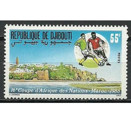 Znaczek Dżibuti 1988 Mi 506 Czyste **
