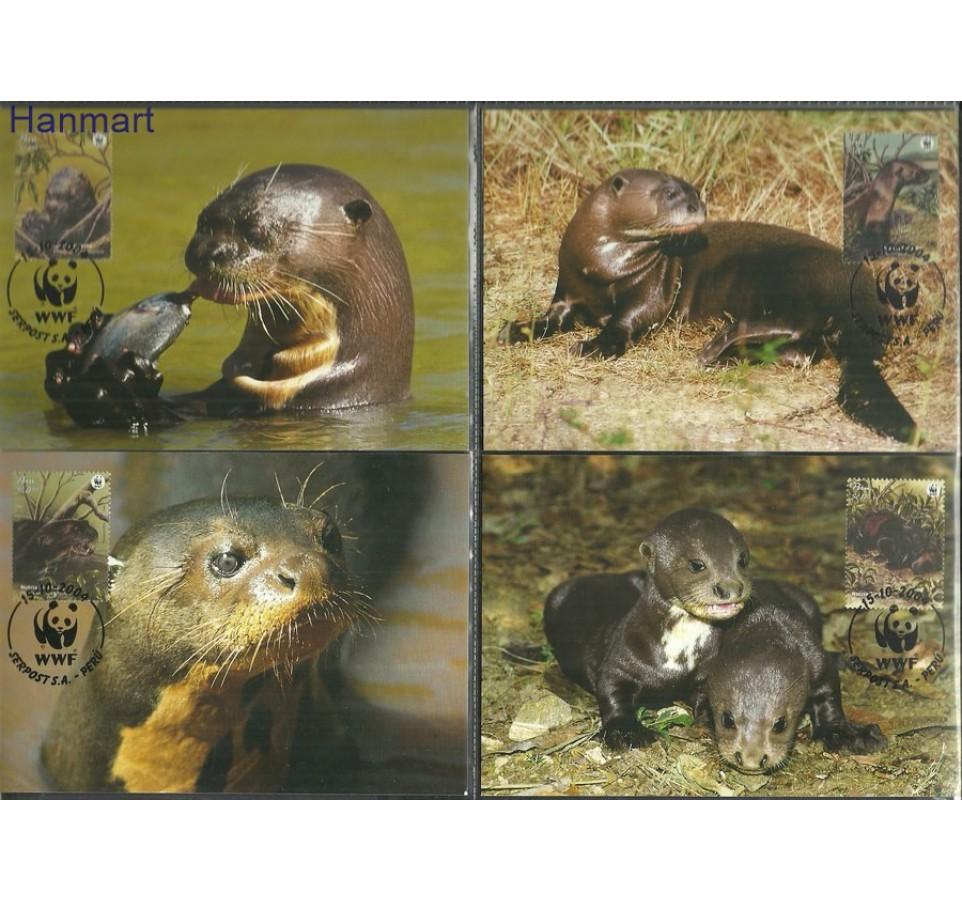 Peru 2004 Mi 1951-1954 Karta Max