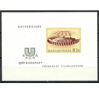Znaczek Węgry 1965 Mi bl 50B Czyste **