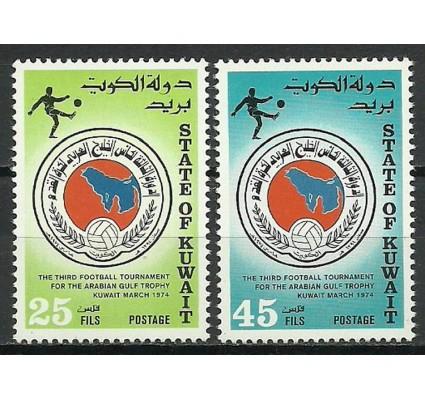 Znaczek Kuwejt 1974 Mi 622-623 Czyste **