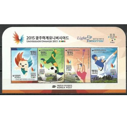 Znaczek Korea Południowa 2015 Mi bl 759 Czyste **