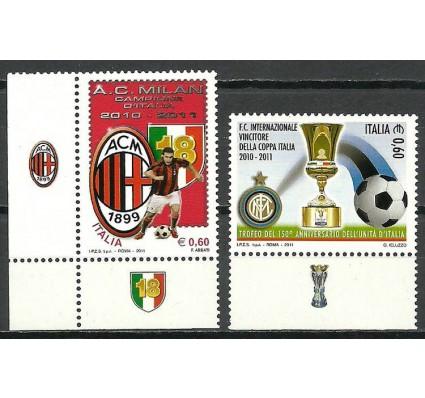 Znaczek Włochy 2011 Mi 3476-3477 Czyste **