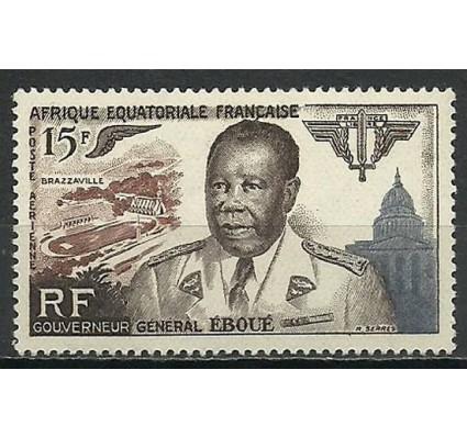 Znaczek Francuska Afryka Równikowa 1955 Mi 297 Czyste **