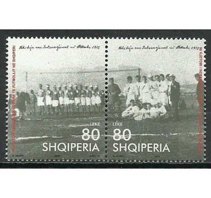 Znaczek Albania 2003 Mi 2949-2950 Czyste **