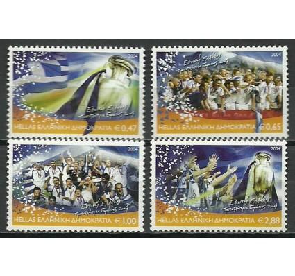 Znaczek Grecja 2004 Mi 2230-2233 Czyste **