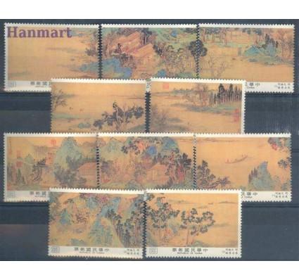 Znaczek Tajwan 1987 Mi 1768-1777 Czyste **
