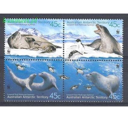 Znaczek Australijskie Terytorium Antarktyczne 2001 Mi 145-148 Czyste **