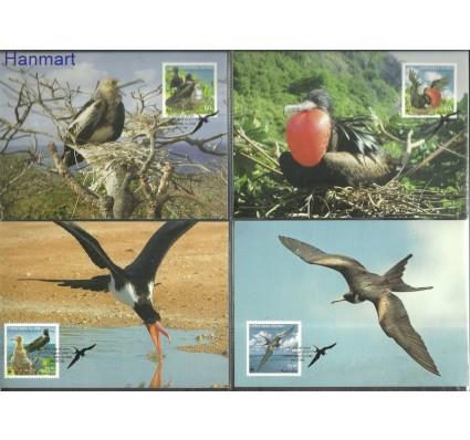 Znaczek Wyspa Bożego Narodzenia 2010 Mi 681-684 Karta Max