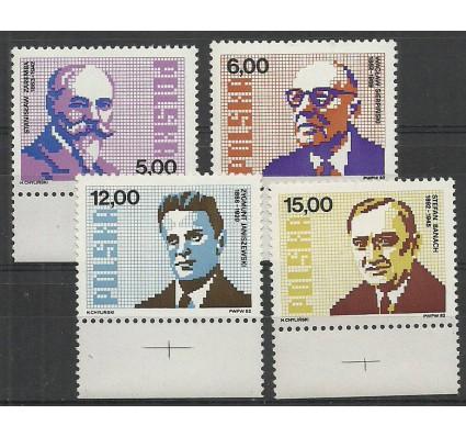 Znaczek Polska 1982 Mi 2836-2839 Fi 2688-2691 Czyste **