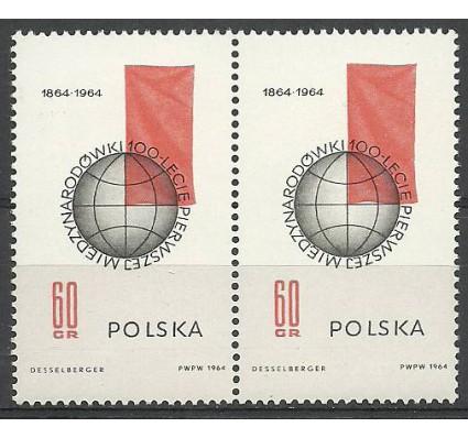 Znaczek Polska 1964 Mi 1529 Fi 1381 Czyste **