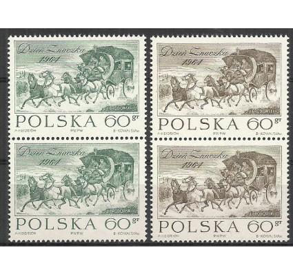 Znaczek Polska 1964 Mi 1530-1531 Fi 1382a,b Czyste **