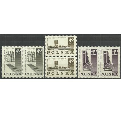 Znaczek Polska 1967 Mi 1757-1759 Fi 1609-1611 Czyste **