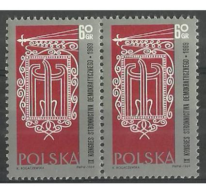 Znaczek Polska 1969 Mi 1906 Fi 1759 Czyste **