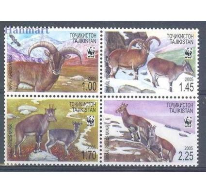 Znaczek Tadżykistan 2005 Mi 392-395 Czyste **