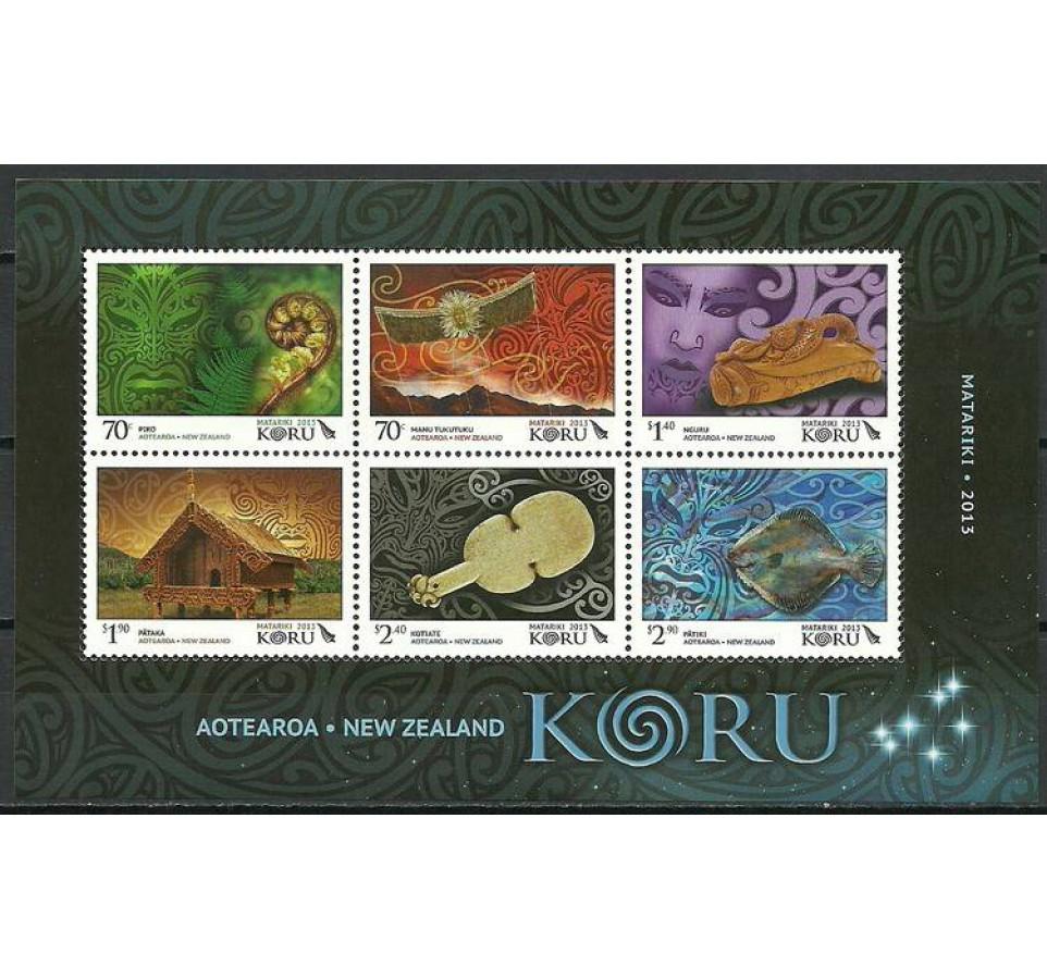 Nowa Zelandia 2013 Mi bl 312 Czyste **