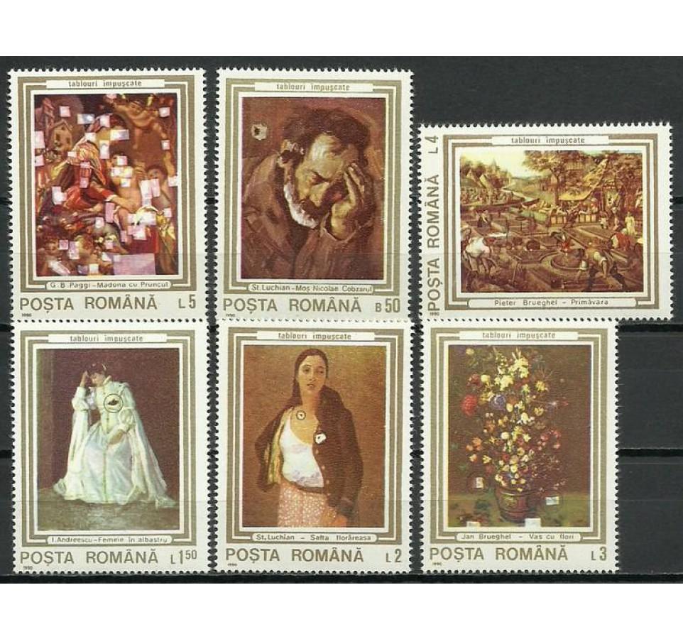 Rumunia 1990 Mi 4622-4627 Czyste **