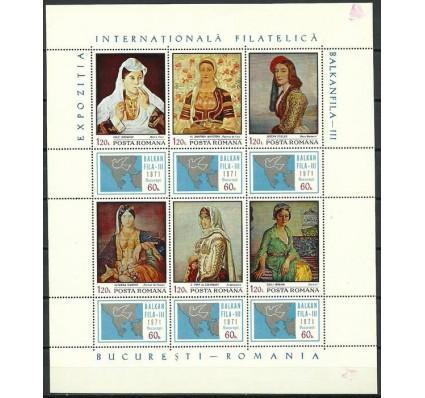 Znaczek Rumunia 1971 Mi ark 2931-2936 Czyste **