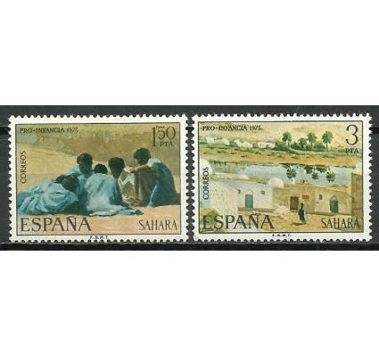 Znaczek Sahara Espanol 1975 Mi 351-352 Czyste **