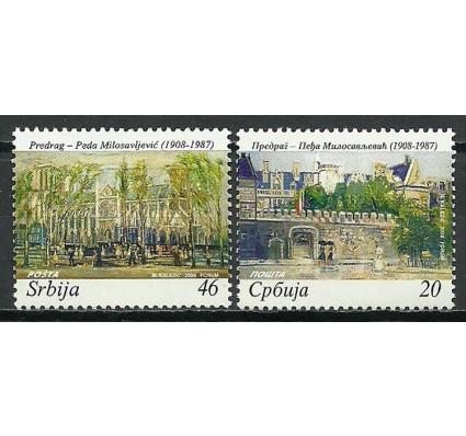 Znaczek Serbia 2008 Mi 234-235 Czyste **
