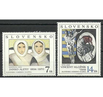 Znaczek Słowacja 1994 Mi 211-212 Czyste **