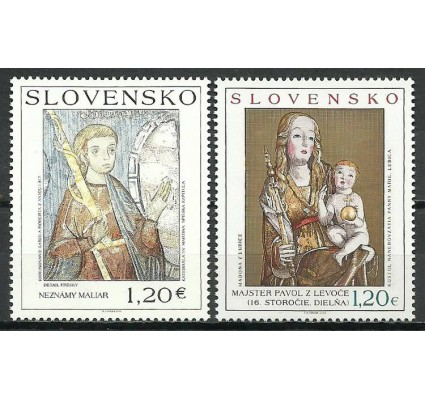 Znaczek Słowacja 2010 Mi 648-649 Czyste **