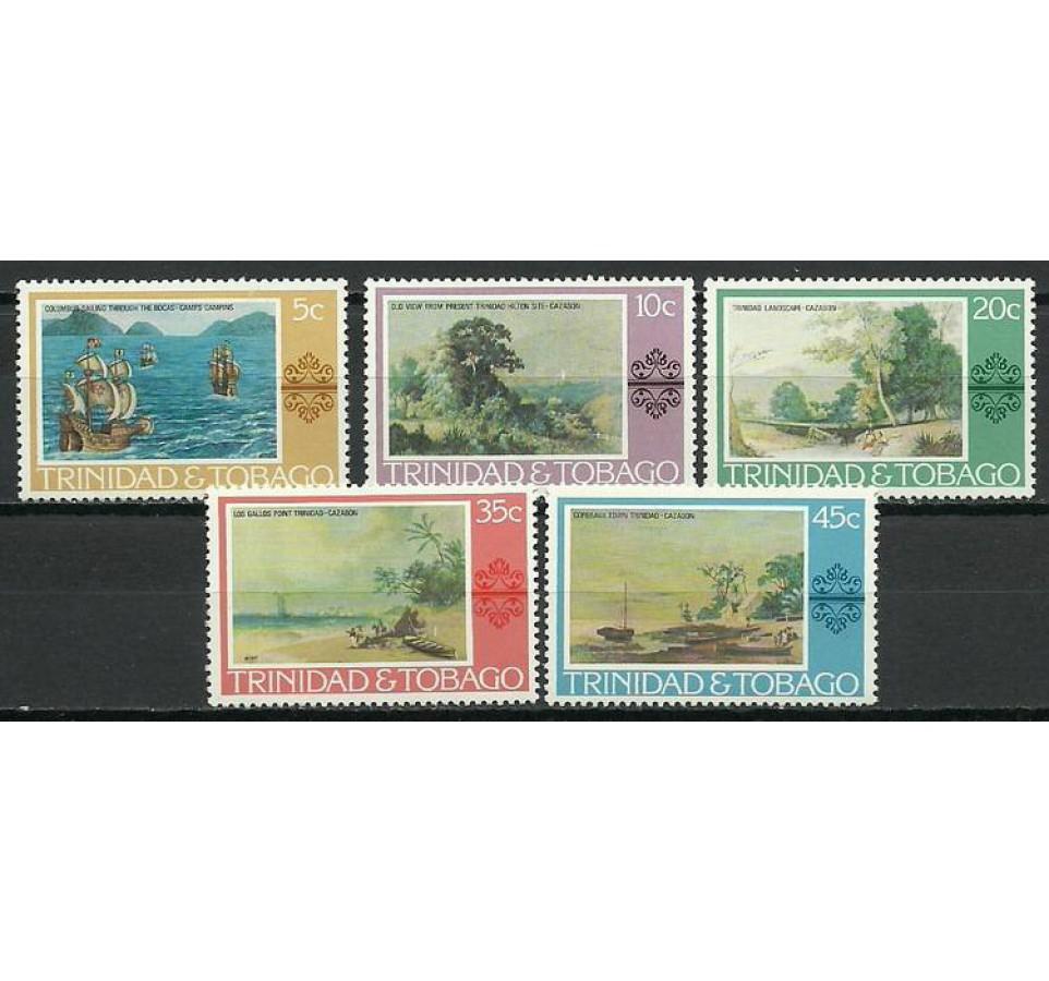 Trynidad i Tobago 1976 Mi 345-349 Czyste **