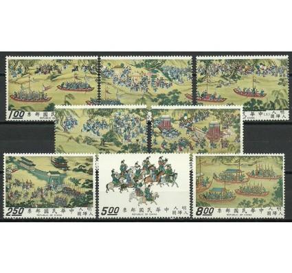 Znaczek Tajwan 1972 Mi 900-907 Czyste **