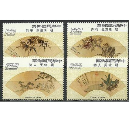 Znaczek Tajwan 1973 Mi 972-975 Czyste **