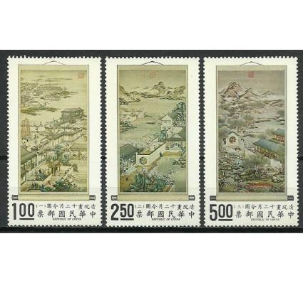Znaczek Tajwan 1971 Mi 804-806 Czyste **