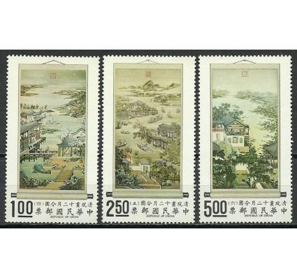 Znaczek Tajwan 1971 Mi 821-823 Czyste **