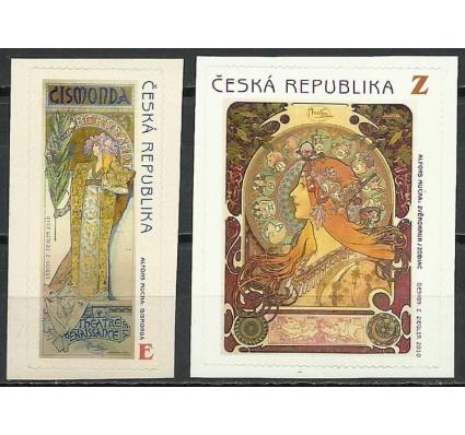 Znaczek Czechy 2010 Mi 633-634 Czyste **