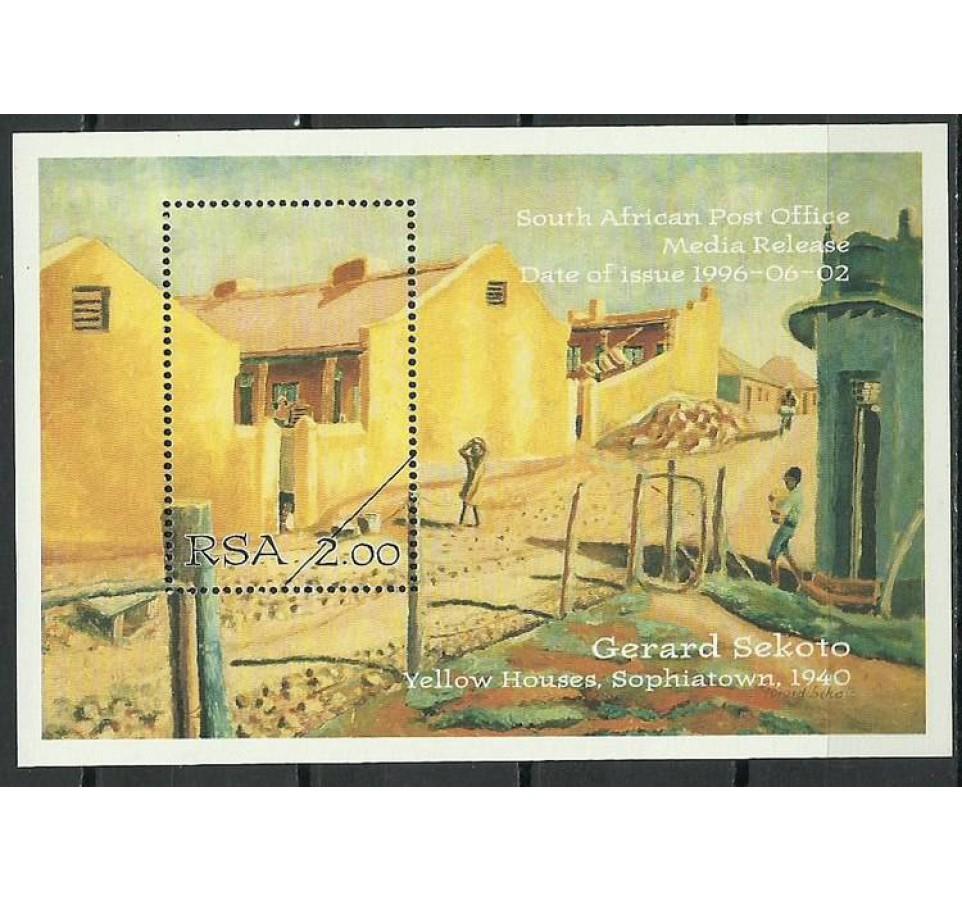 Republika Południowej Afryki 1996 Mi spe bl43 Czyste **