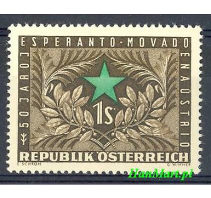 Znaczek Austria 1954 Mi 1005 Czyste **